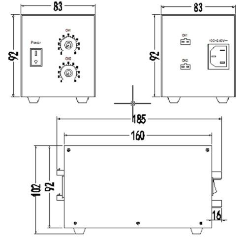 两路光源控制器(大功率)